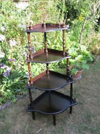 Reproduction Victorian Whatnot Stand for Restoration