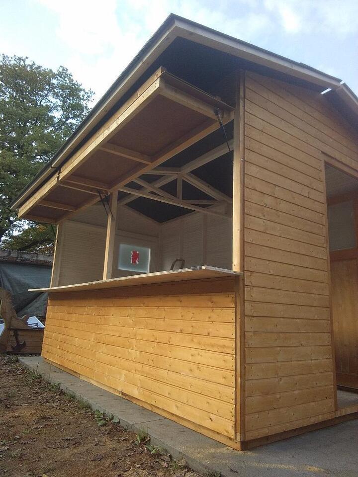 Kunsthandwerkerhütte, Weihnachtsbude, Verkaufshaus in Schleswig-Holstein - Rickling