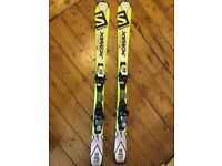 Skis 110cm Brand New Salomon XMAX JR skis with Carve Rocker Technology.