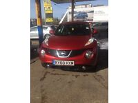 Nissan Juke cheap only 2 owners from new cheapest on the net