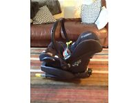 Baby Car Seat and ISOFIX Car Seat Base
