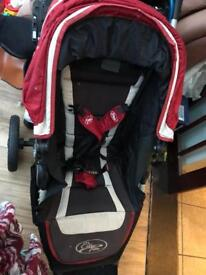 Baby jogger elite and toddler seat