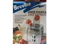 Juice fountain