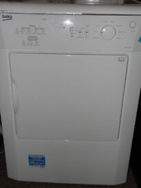 Beko DRVT71W 7kg Vented Tumble Dryer