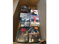 Box of DVD approx 50