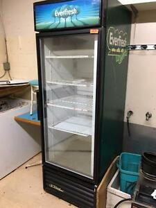 Single Door Glass Coolers - Storey's Online Auction - Restaurant Equipment - May 25 2017