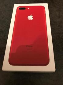 iPhone 7 plus 128 gb (Product) red unlocked