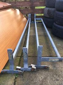 Ford transit 3 piece roller roof rack