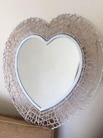 Mirror - Heart shaped.