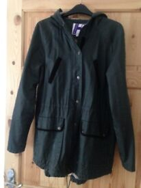 Henry Holland size 10 women's wax effect jacket size 10 excellent condition