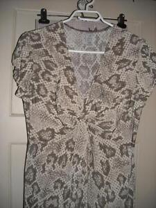For Sale: New Snakeskin Print Dress size L (New Price)