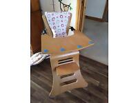 Kuster high chair/ toddler seat