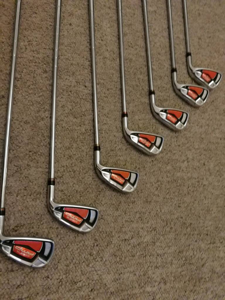 Cobra amp irons 4-pw