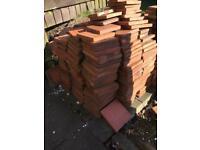 NEW Quarry tiles job lot approx 250-300
