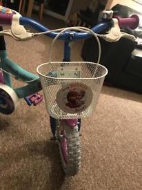Kids frozen bike