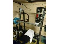 March sr50 squat, bench rack