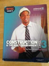 BTEC level 3 construction and the built environment