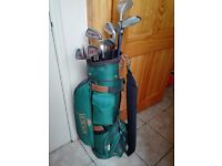 Mens Howson golf set, right handed