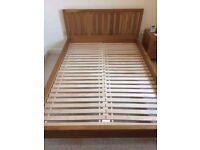 Laura Ashley Bromptom Oak Double Bed Frame
