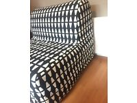 Ikea lycksele chair bed with cover, like new.
