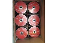 dvd-r data write disc 50 packs reds joblot bulk cheap