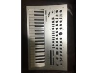 Korg Minilogue polyphonic analogue synthesizer used a few times perfect conditions