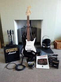 Jack Daniels Squire Fender Stratocaster