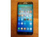 Samsung Galaxy S6 Edge Plus   Black   32gb   Unlocked/3 small Cracked/ 2/Airline