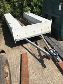 SMALL TRAILER WITH GALVANISED CHASSIS