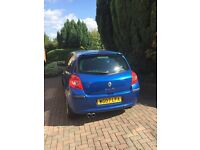 2007 RENAULT CLIO (3DR HATCHBACK) 1.2TCE DYNAMIQUE SX – PETROL – METALLIC BLUE – LOW MILEAGE - £2450