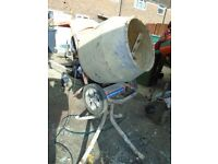 belle cement mixer 240 v