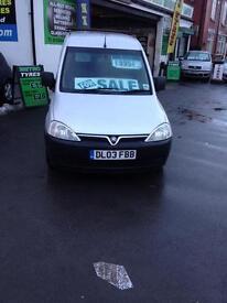 Vauxhall combo 1.7 CDti 100k miles mot £995