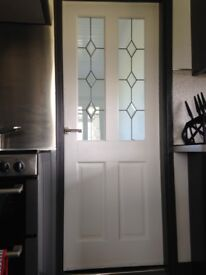 WANTED- WHITE HALF GLAZED INTERNAL DOORS x2 SIZE 1981 x 840 SIMILAR TO PICTURE. ANYWHERE IN SCOTLAND