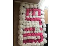 Gala Day Name Blanket