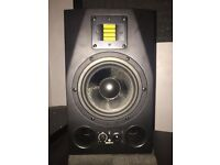 ADAM A7X Professional Studio Speakers with ADAM SUB8 Subwoofer for Sale O.N.O.