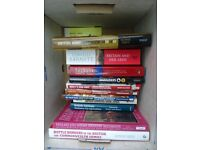 Bundle of twelve (12) books on British Defence and the British Army