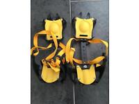 Winter Ice Snow Anti Slip Spikes Grippers Crampons For Shoes Boots