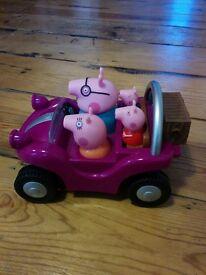Peppa pig adventure buggy