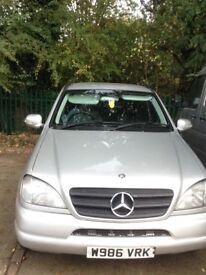 Mercedes Ml320 £1150