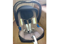 Britax BABY-SAFE Plus SHR II Car Seat (fossil brown) & ISOFIX BASE