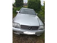 Mercedes 300SL Silver hard and soft top NEW MOT