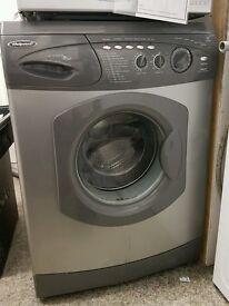 Washing Machine Hotpoint WMA58 Washer 6kg silver chrome 1400 rpm Weymouth dorset