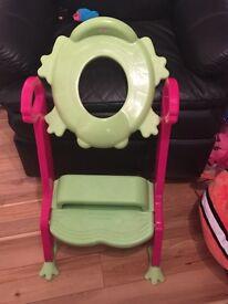Children's toilet seat