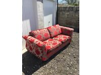Sofa and matching 2 chairs