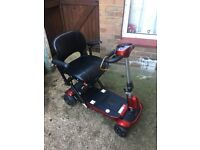 Solax Folding Mobility Scooter - Rarely Used (Charger Included)