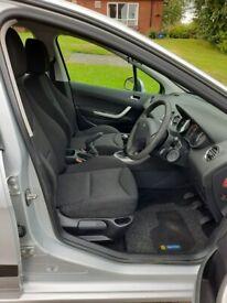 image for Peugeot, 308, Hatchback, 2012, Manual, 1397 (cc), 5 doors, Silver