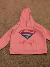 Babys supergirl hoodie