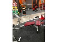 LIFE FITNESS SIGNATURE ABB CRUNCH BENCH FORSALE!!