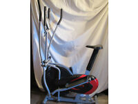 2 in 1 Combined exercise bike and cross trainer