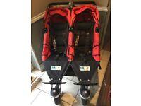 TFK Twinner Twist Duo double twin buggy pushchair stroller jogger